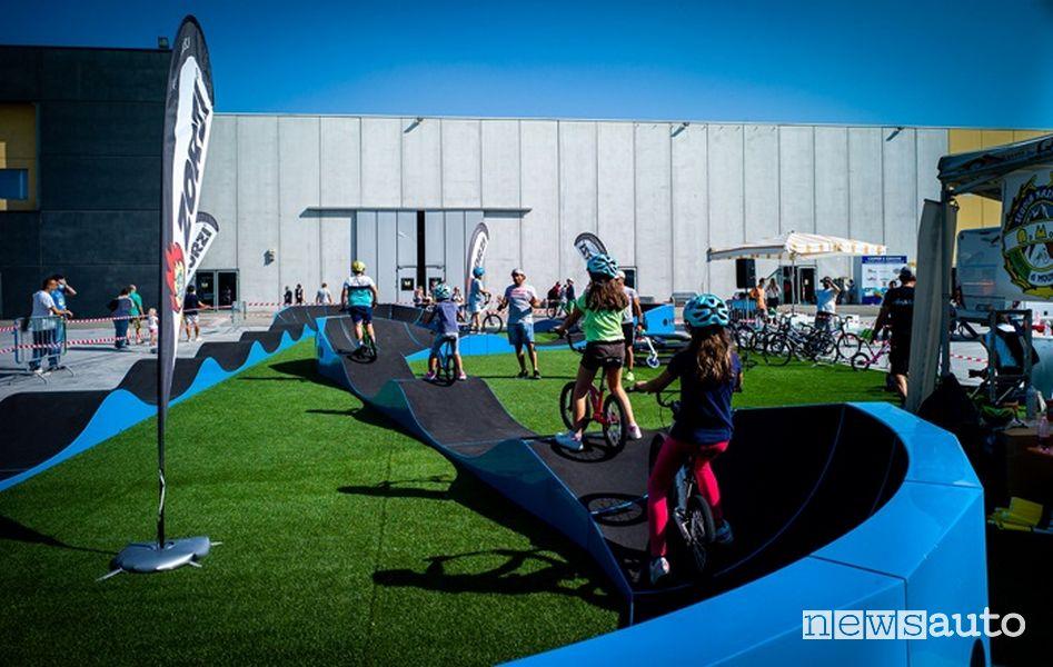 Salone del Camper Outdoor & Bike con percorsi Pumptrack e Mtb.