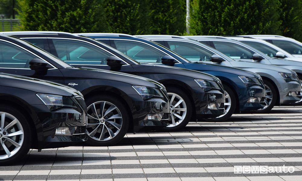 Incentivi auto fascia CO2 61-135 g/km