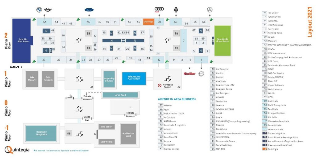 Mappa stand ad Automotive Dealer Day 2021