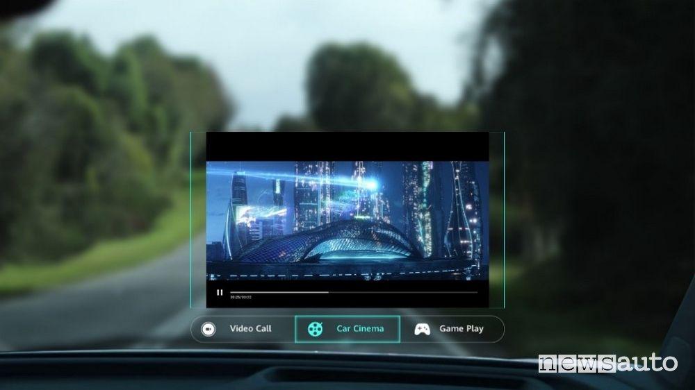 Huawei porta la realtà aumentata in auto con l'ultima versione del sistema AR-HUD