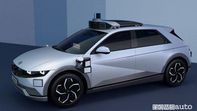 Hyundai Ioniq 5 robotaxi auto elettrica a guida autonoma