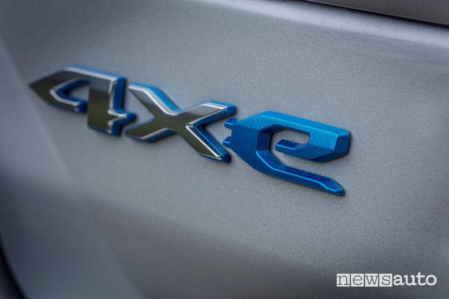 Logo 4xe portellone posteriore nuova Jeep Grand Cherokee Trailhawk 4xe
