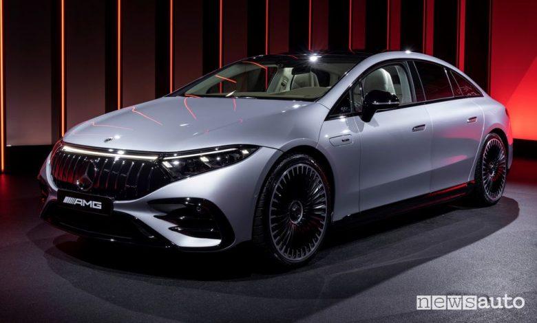 Mercedes-AMG EQS 53 4MATIC+ al Salone di Monaco 2021