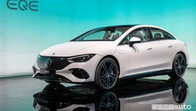 Nova Mercedes EQE 350 al Salone di Monaco IAA 2021