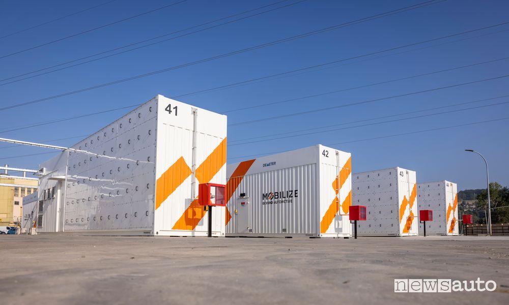 Advanced Battery Storage nella Re-Factory di Flins