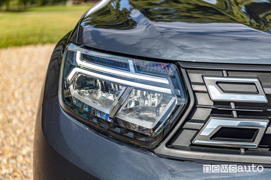 Faro anteriore nuovo Dacia Duster 4x2 GPL