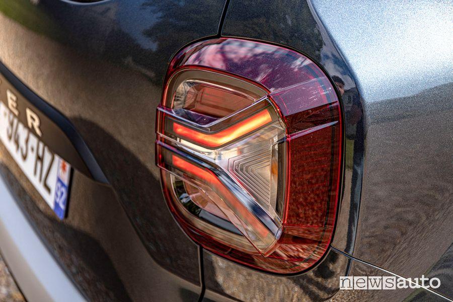 Faro posteriore nuovo Dacia Duster 4x2 GPL