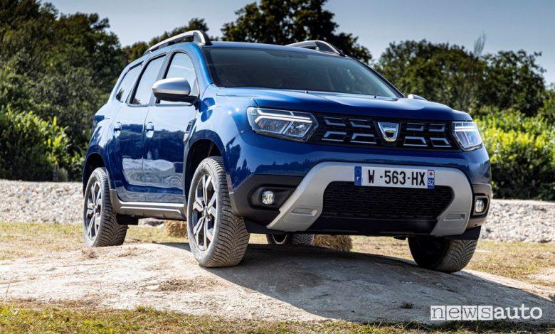 Nuovo Dacia Duster, benzina, diesel, GPL, caratteristiche e prezzi