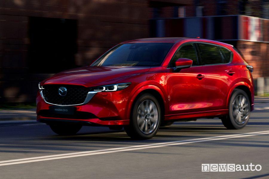 Nuova Mazda CX5 motori benzina Skyactiv-G diesel Skyactiv-D