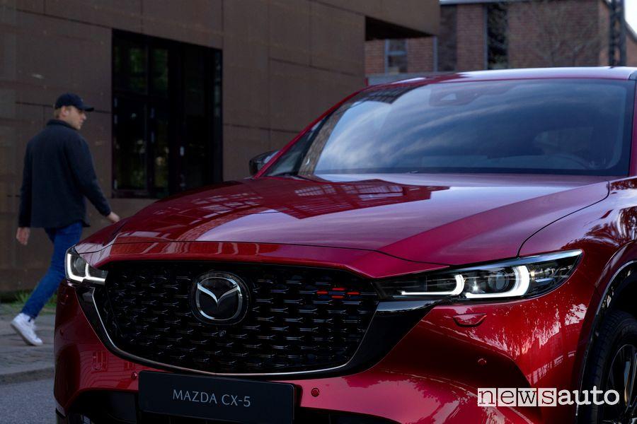Calandra anteriore nuova Mazda CX-5 2022 Homura