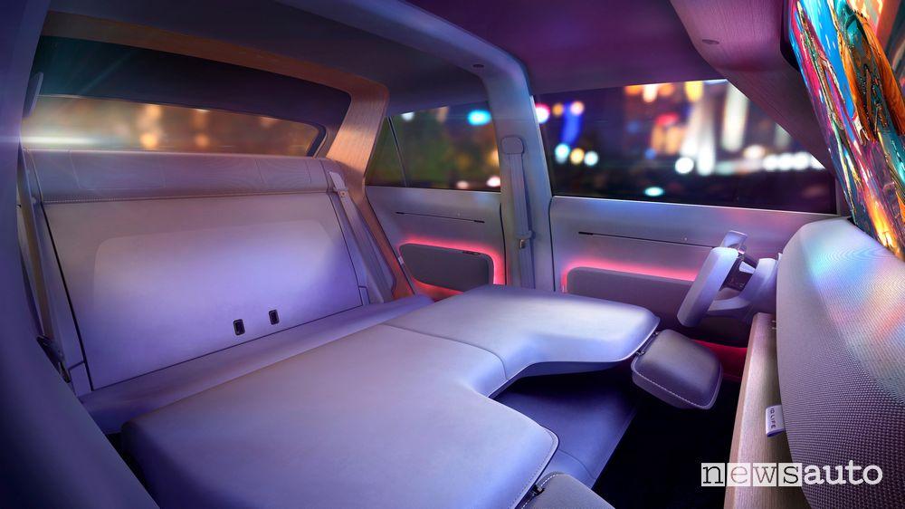 Sedili posteriori abitacolo Volkswagen ID.LIFE concept car