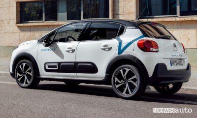 Car sharing Share Now, Citroën C3 nella flotta a Milano, Roma e Torino