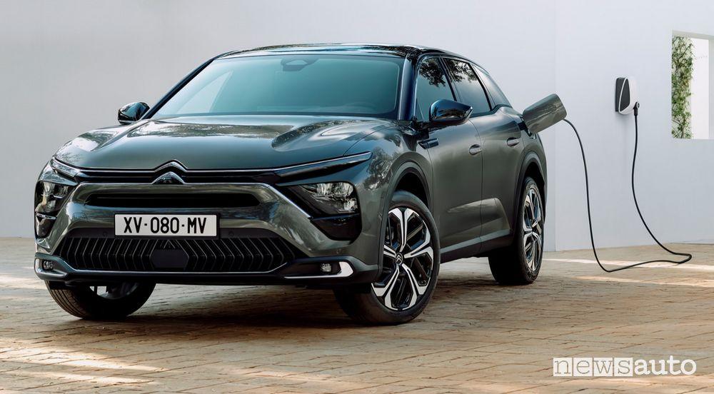 prezzi della Citroën C5X ibrida plug-in