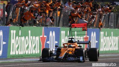 F1 Gp Italia 2021, risultati e classifiche gara a Monza