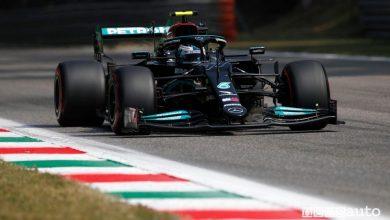 Qualifica Sprint F1 Gp Italia Monza 2021, la griglia di partenza