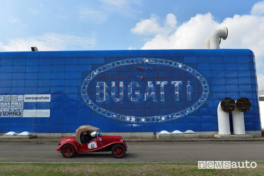 Fabbrica Bugatti di Campogalliano Modena Gp Nuvolari 2021