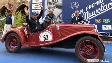 Gp di Nuvolari 202i, classifica finale gara per auto storiche