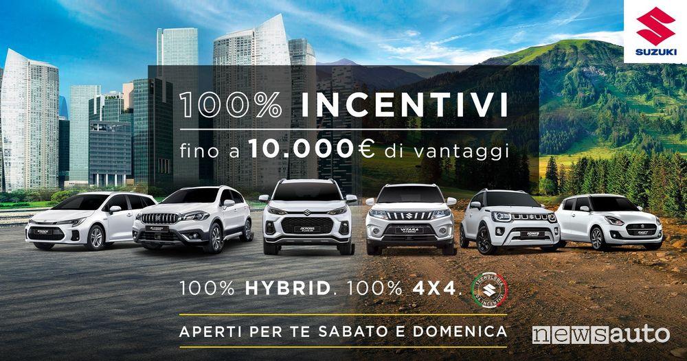 """Locandina """"Porte Aperte"""" Suzuki a settembre"""