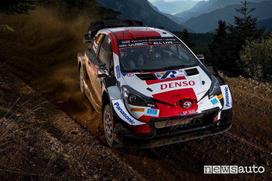 WRC Rally Acropoli 2021, Toyota Yaris Kalle Rovanpera
