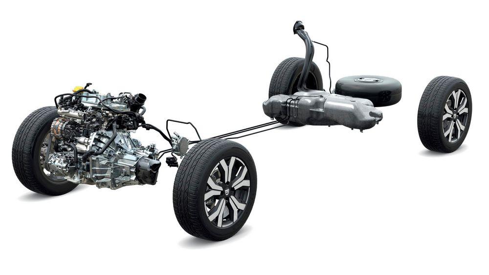 Dacia LPG bifuel system
