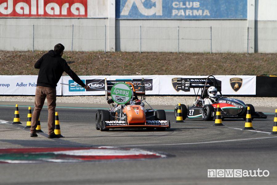 Formula SAE Italy 2021 partenza