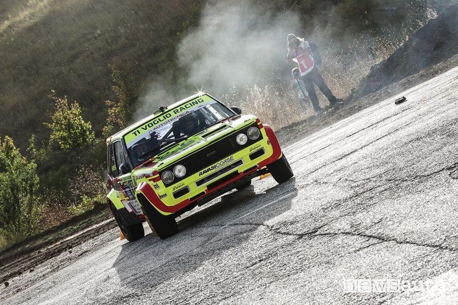 Fiat 131 Racing di Paolo Diana al Rallylegend