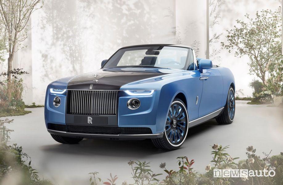Rolls-Royce Boat Tail l'auto più costosa al mondo