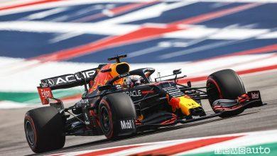 Qualifiche F1 Gp Stati Uniti 2021, la griglia di partenza