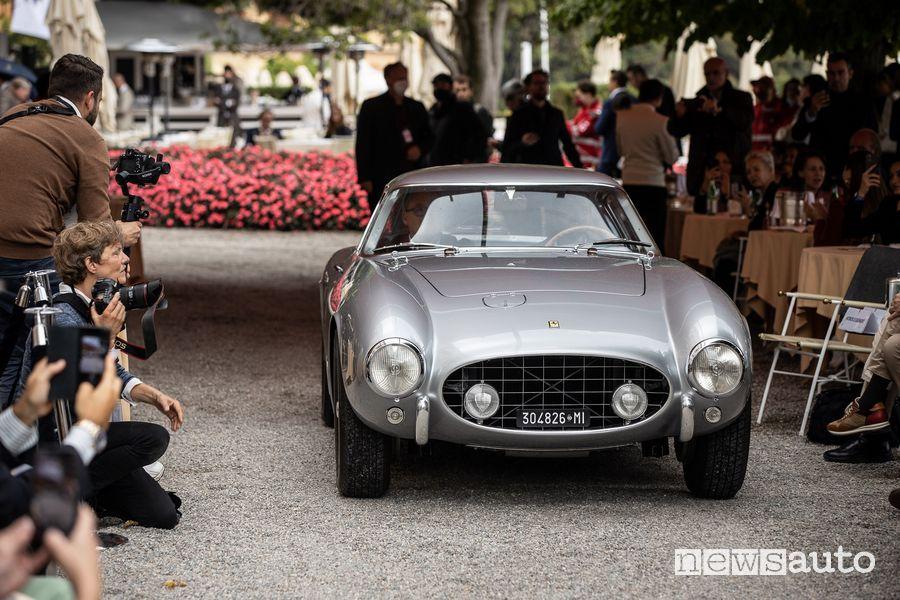 Ferrari 250 GT TDF Coupé Pininfarina Best of Show al Concorso di Eleganza Villa d'Este 2021
