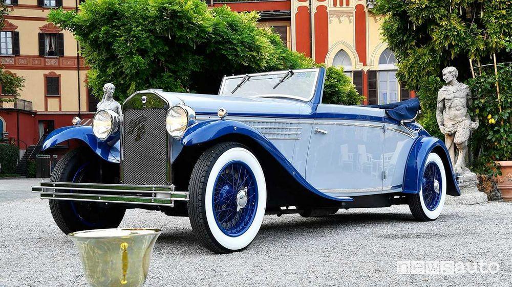 """Lancia Dilambda del 1930 è """"Coppa d'Oro"""" al Concorso d'Eleganza di Villa d'Este 2021"""