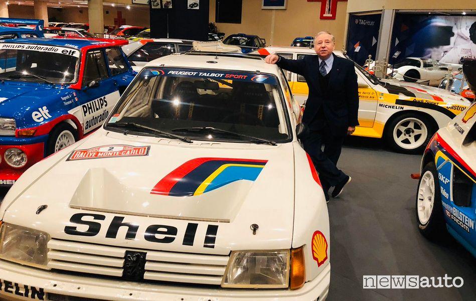 Jean Todt ha fondato Peugeot Sport nel 1981 nella foto con 205 T16